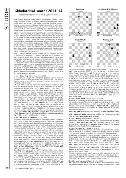 1. část (pdf) - Československý šach