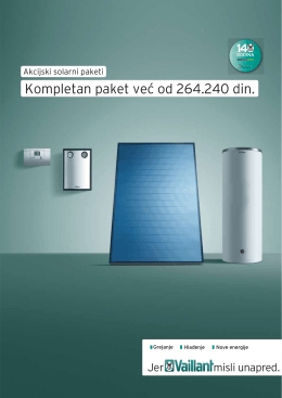 Vaillant - Letak solarni paket 09.2014