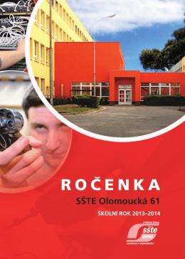 ROČENKA - SŠTE Brno, Olomoucká 61
