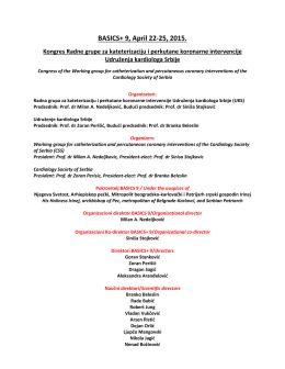 BASICS+ 9, April 22-25, 2015.