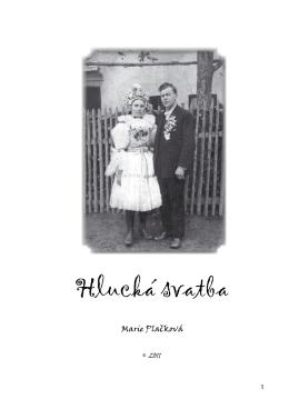 Hlucká svatba - text