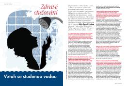 Zdravé otužování - I. plavecký klub otužilců Praha