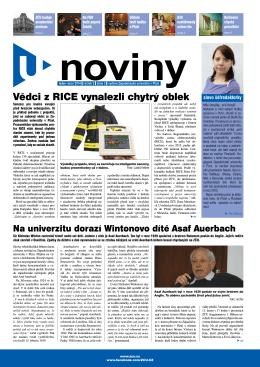 u-noviny - Západočeská univerzita v Plzni