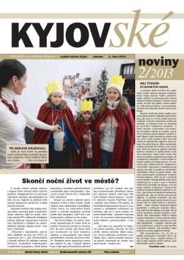 Kyjovské noviny 2/2013 - On-line vysílání / program