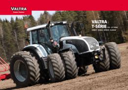 Prospekt řady traktorů VALTRA serie T ke stažení