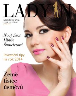 Čtyřiadvacáté číslo časopisu Dámského invetičního klubu LADY IN