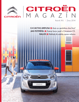 Citroën Magazín - Auto Mrkvička s.r.o.