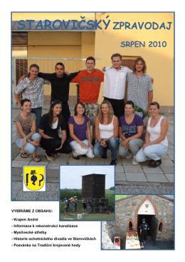 starovičskýzpravodaj srpen 2010