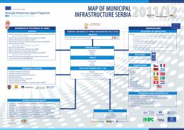 Mapa opštinske infrastrukture