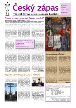 14/2014 - Církev československá husitská