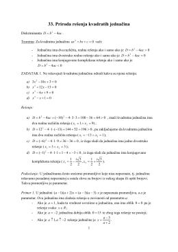 33.Priroda_resenja_kvadratih_jednacina