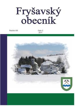 Číslo 2, rok 2011 - Obec Fryšava pod Žákovou horou