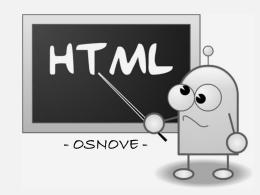 HTML – osnove
