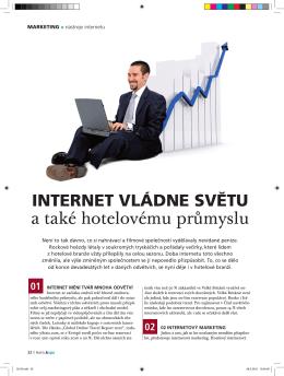 internet vládne světu a také hotelovému průmyslu