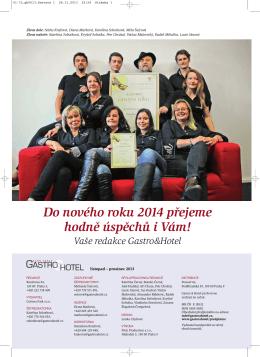 Stáhněte si časopis Gastro & hotel 06 / 2013 ve formátu PDF