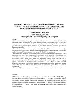 regionalni vodovodni sistem lopatnica - prilog