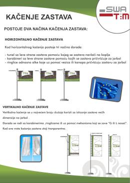 KACENJE ZASTAVA - stampanjezastava.com