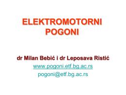 M - Elektrotehnički fakultet