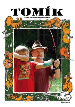 Časopis turistických oddílů mládeže ŘÍJEN 2014