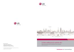 LG katalog: Kućni klima uređaji (2011)
