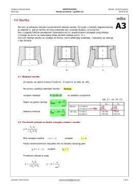 Mathcad – Rucna dizalica 2014-15 A3