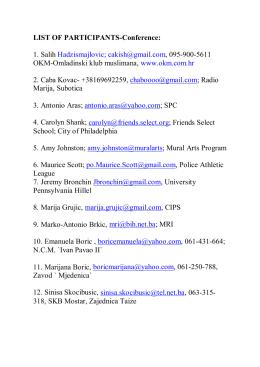 LIST OF PARTICIPANTS- Conference.pdf