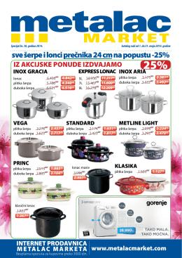 Metalac market katalog maj 2014