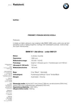 BMW X1 xDrive 1.8d 966121