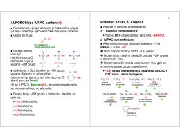 ALKOHOLI (po IUPAC