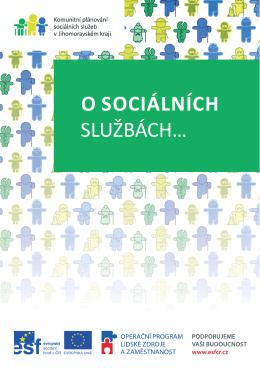 Brožura o sociálních službách - portál sociální péče ve městě Brně