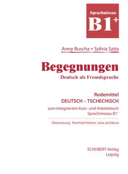 Begegnungen - SCHUBERT