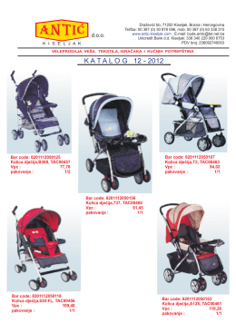 Katalog 12_2012 - Antić doo Kiseljak