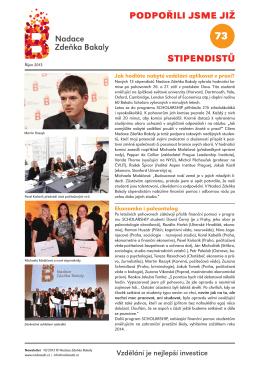 Newsletter říjen 2013 zobrazit / stáhnout