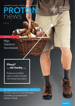 Proton News 09/2014 O léčbě prostaty v PDF
