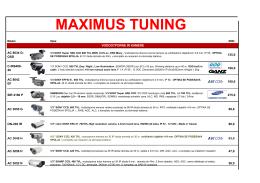 MAXIMUS TUNING