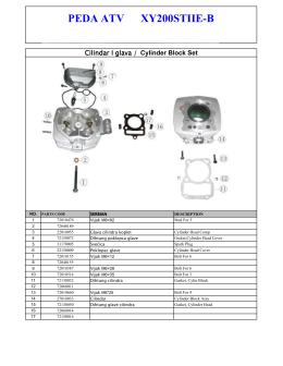 PEDA ATV XY200STIIE-B