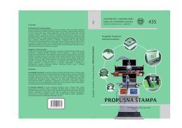 Propusna štampa - Univerzitet u Novom Sadu