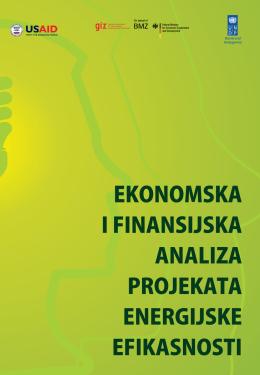 Ekonomska i finansijska analiza projekata energijske efikasnosti
