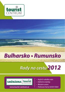 Brožura Bulharsko a Rumunsko 2012 - Tourist
