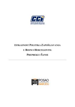 efikasnost politika zapošljavanja - konačna verzija