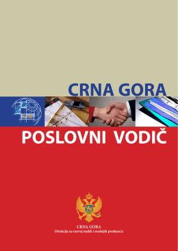 poslovni vodič crna gora - Direkcija za razvoj malih i srednjih