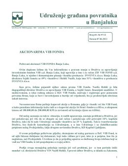 Udruženje građana povratnika u Banjaluku