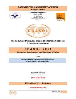 E D A S O L   2 0 1 4