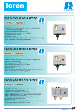 RANCO 016H 6750