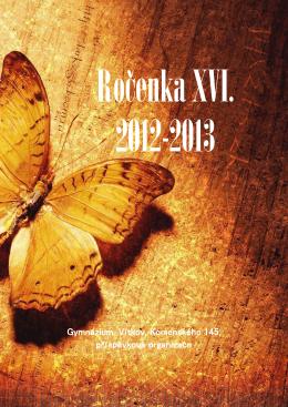 Ročenka XVI-2012-2013 - Základní škola a gymnázium Vítkov