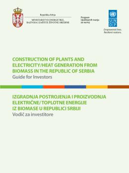 Izgradnja postrojenja i proizvodnja električne/toplotne energije iz