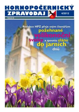 Hornopočernický zpravodaj 4/2012