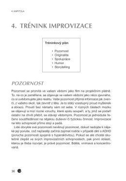 zde - Kniha Buďte mistry improvizace