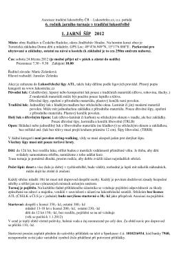 Propozice - Lukostrelec