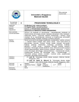 Proizvodne tehnologije II.pdf